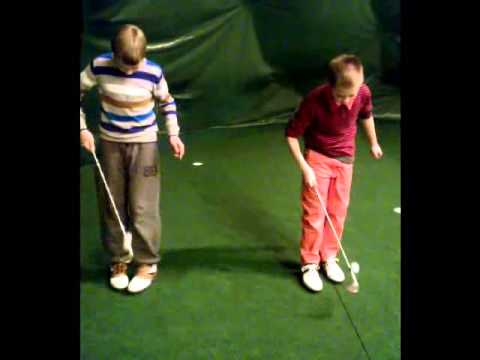 Junior golf juggling challenge – part 2.