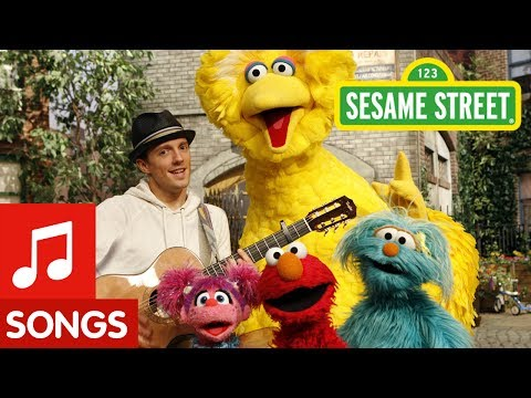 Sesame Street - Outdoors with Jason Mraz