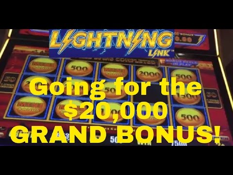 Going for $20,000 Grand Bonus WIN!!! OH YEA!!!