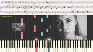 """Первый снег - гр """"Моральный кодекс"""" (Ноты и Видеоурок для фортепиано) (piano cover)"""