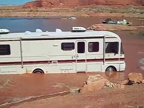 Motorhome Mud Bogging