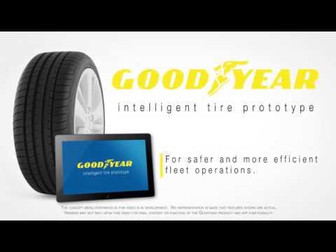 Goodyear testet intelligenten Reifen mit Priva