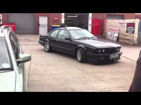 1987 BMW e24 635csi M30B34 manual alpina front splitter and wheels
