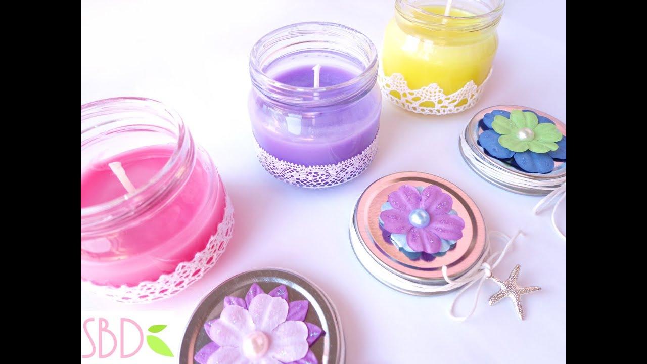 Candele profumate con ingredienti casalinghi (senza cera) ♥ VIDEOTUTORIAL