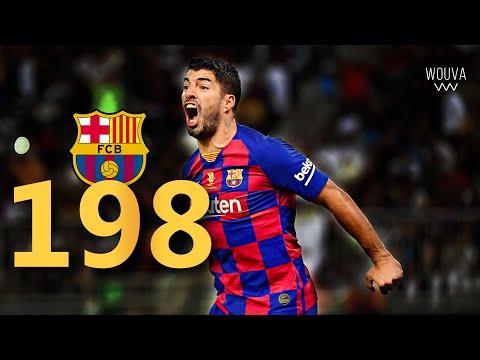 Luis Suarez - ALL 198 Goals for Barcelona