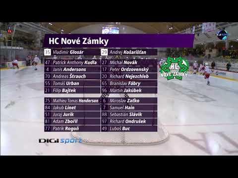 29.forduló: DVTK Jegesmedvék - HC Nové Zámky