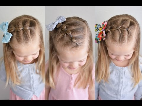 Three 5 Minute Elastic Styles | Q's Hairdos