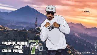 "Test rendu Snoop Dogg & DAM FUNK  ""High Wit Me""/""7 days of Funk"". By Heladj. 2015."