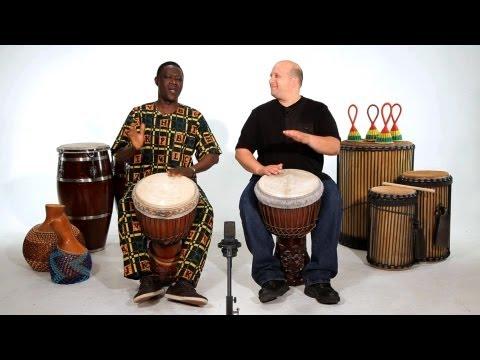 Beginner Djembe Drum Solos | African Drums