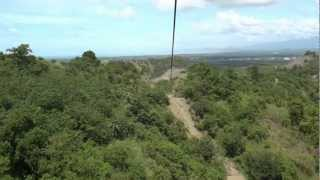 Butuan Philippines  city photos : Riding the longest zipline in Asia (1.3 km long) in Butuan Philippines.