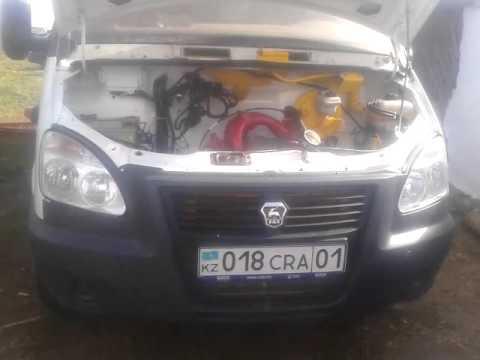 Установить дизельный двигатель типа форд транзит на газель снимок