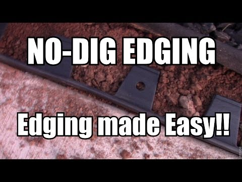 No Dig Flexible Landscape Edging (видео)