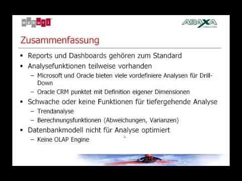 sfdcMktg - CRM Consultant Robert Schraner realisierte fr dieses Swiss CRM Forum Referat das Konzept, die Testaccounts fr den CRM Vergleich, sowie die Aufbereitung der...