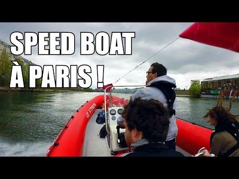 #9 – Speed Boat sur la Seine à Paris – Gopro 3+