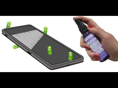 Dr. Bronner's Handhygienespray - Smartphone