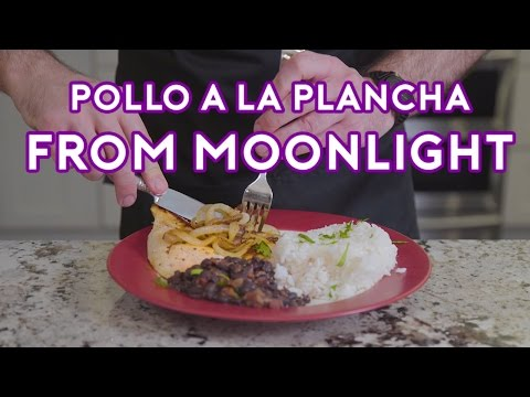 Chef Recreates Pollo a la Plancha from