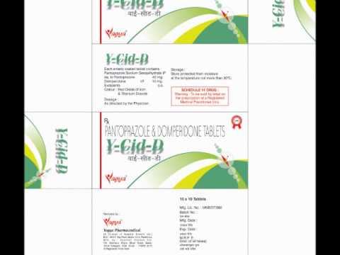 Pantoprazole & Domperidone Tablets by Yagya Pharmaceutical
