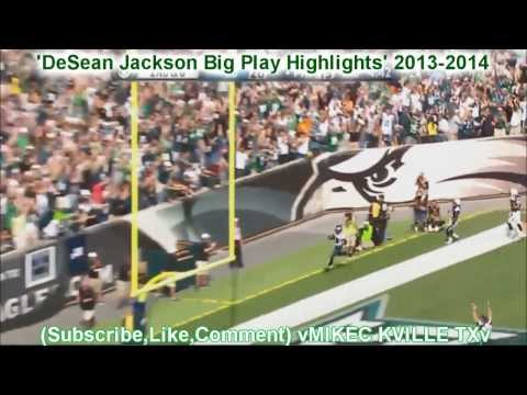Desean Jackson - New DeSean Jackson Highlights with a few twist and edits.I made and edited this video as a request, SO IF ANYONE WANTS ME TO MAKE A MONTAGE OF THERE FAVORITE...