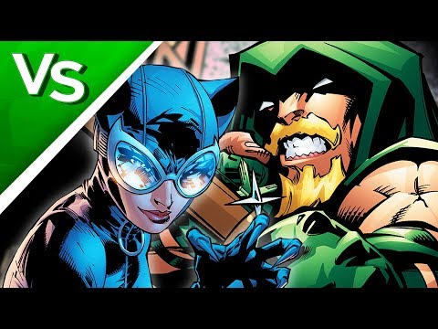 CATWOMAN Vs GREEN ARROW // LIVE