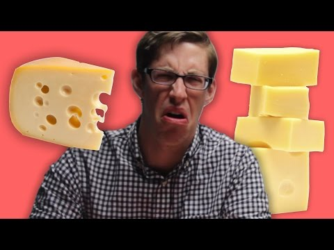 People Try Vegan Cheese For The First Time