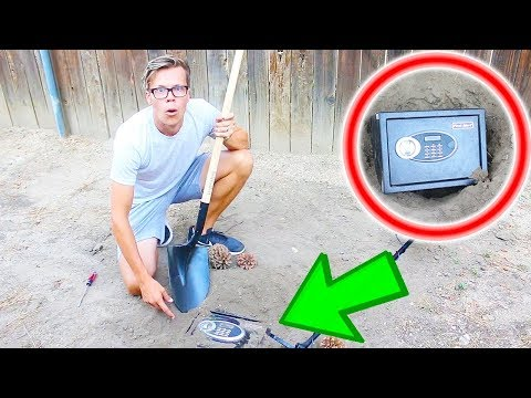 Found a Secret Hidden Safe Abandoned in Our Backyard (Behind our House! )