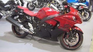1. Suzuki Hayabusa 1300R ABS 50th Anniversary Edition Exterior and Interior in 3D