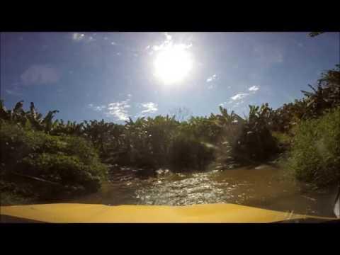 Travessia do Rio em Eldorado-SP