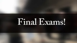 A video going over my final medical school exams. I had 3 exams in total. 2 written examinations and 1 practical (OSCE). Very weird to think that this will be my last ever exams at medical school, on to doctor things from now :)