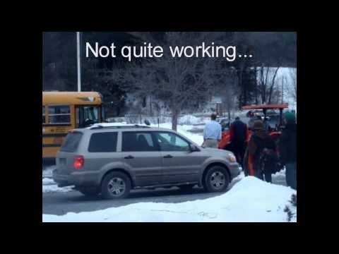 Kubota Pulls Bus