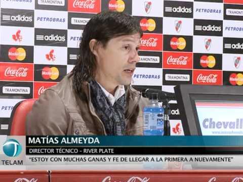 Conferencia de Almeyda en su primer día como técnico