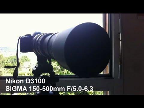 SIGMA 150-500mm F/5.0-6.3 Tele-Zoom Test Full HD