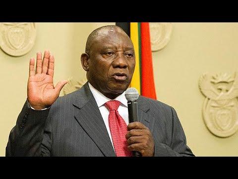 Neuer Präsident Cyril Ramaphosa vereidigt