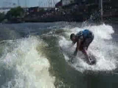 Drew Danielo Wakesurf Worlds WInning Run
