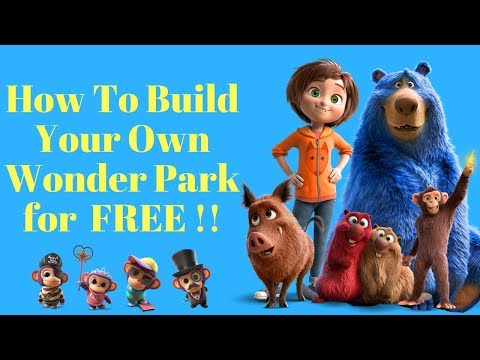 How to Build your own WONDER PARK for FREE with June-Boomer-Greta-Chimps