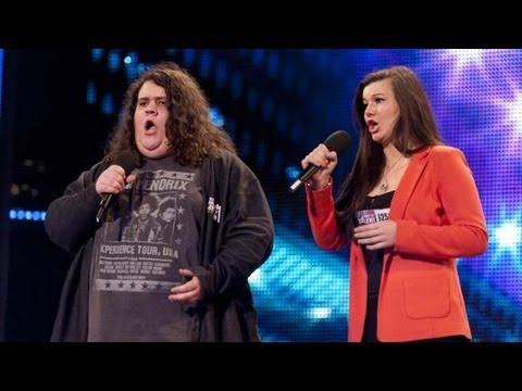 talent - Opera meets pop when 17-year-old Jonathan and 16-year-old Charlotte sing together. But can the duo convince Britain's Got Talent Judges Simon Cowell, David W...