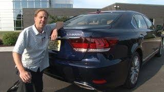2013 Lexus LS 600h L - Drive Time Review With Steve Hammes