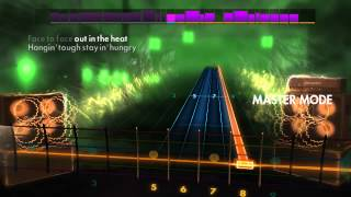 I'm playing Eye of the Tiger in Rocksmith 2016 after six months of playing Rocksmith 2014. It would have been more dramatic if I was an absolute beginner when ...