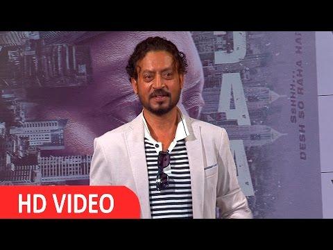 Irrfan Khan At Song Launch For Film Madaari