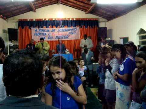 JOSENOPOLIS  FOGO SANTO ( pastor marcelo paiva )