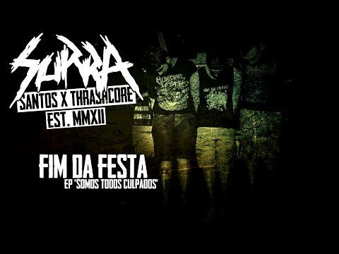 Surra - Fim da Festa [Lyric Video] online metal music video by SURRA
