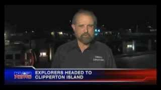 Clipperton Expedition 2013 - KUSI TV San Diego Just before we left.