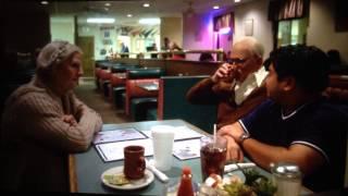 """Bad Grandpa """"Diner Scene"""" with - Javier"""