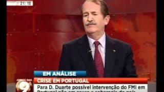 Mário Crespo entrevista SAR o Duque de Bragança (1/3)