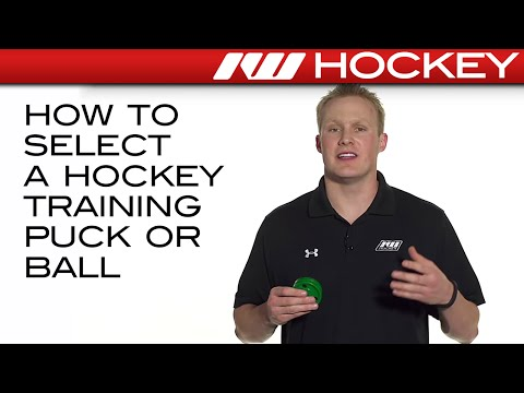 How to Select a Hockey Training Puck or Ball
