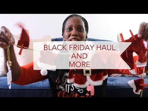 BLACK FRIDAY HAUL AND MORE VLOGMAS 2019 { DAY 3 }