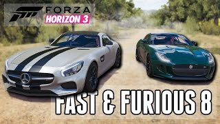 Nonton Fast & Furious 8 - Trailer Car Battle! (Build + Street Racing)    Forza Horizon 3 Film Subtitle Indonesia Streaming Movie Download