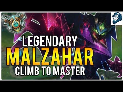 LEGENDARY MALZAHAR - Climb to Masters | League of Legends