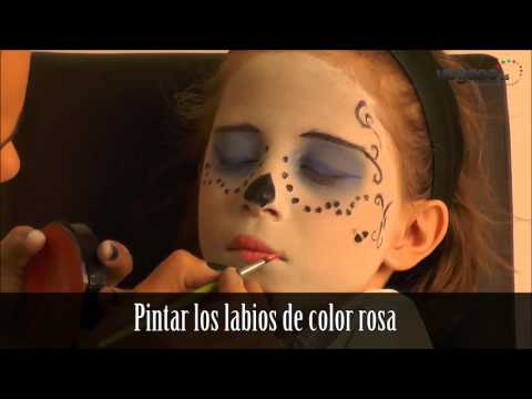 Maquillaje de Skelita - Monster High