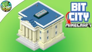 Minecraft: BIT CITY TOWN HALL