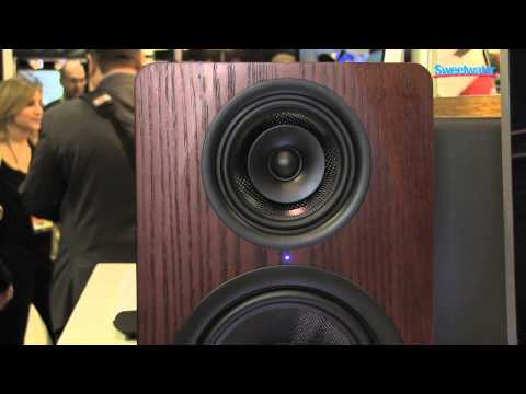 M-Audio M3-8 3-way Studio Monitors Overview – Sweetwater Sound at Winter NAMM 2013